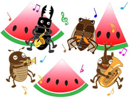 サマー コンサートの昆虫