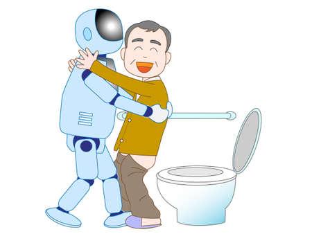 pflegeversicherung: Roboter, die f�r die Altenpflege