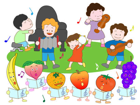 乳幼児: 子供たちのコンサート