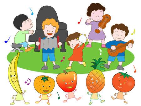 banana sheet: Childrens concert