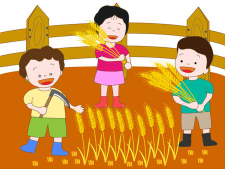 germination: Kids  farm