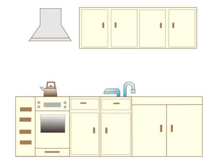 stove top: Kitchen