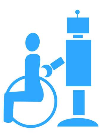 nursing care: For nursing care robot icon