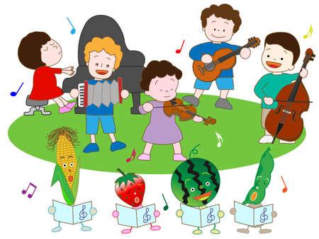 fairyland: Vegetables and childrens Music Festival