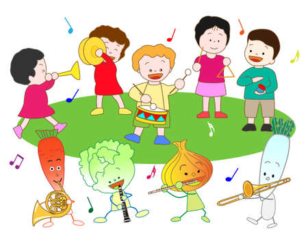 castanets: Vegetables and childrens Music Festival