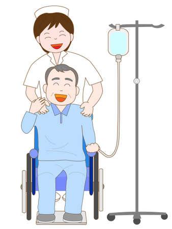Elderly hospitalized patients