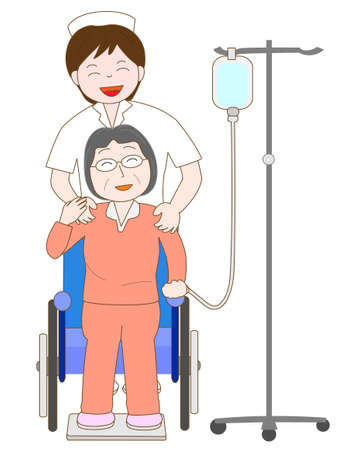 patients: Elderly hospitalized patients
