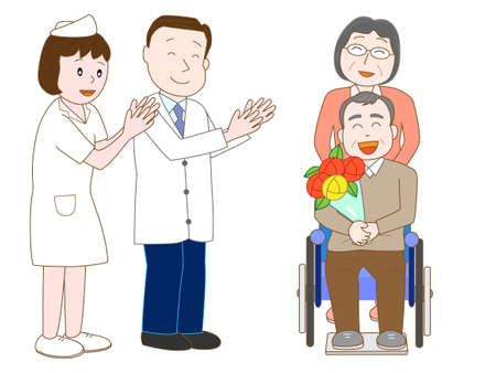 nurse home: Forgo the elderly hospital doctors and nurses.
