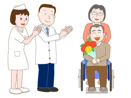 Forgo the elderly hospital doctors and nurses.