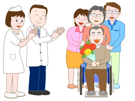 nursing care are for seniors: Forgo the elderly hospital doctors and nurses.