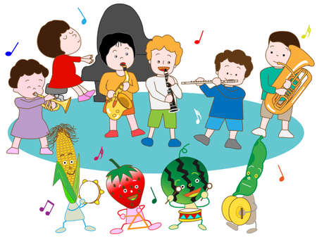 symphonic: The Festival of children and vegetables