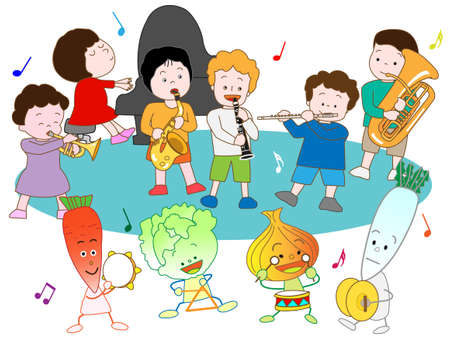 symphonic: Music Festival for kids and vegetables
