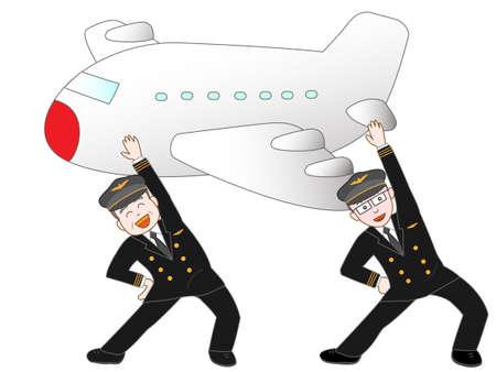 long weekend: Dance of the pilots