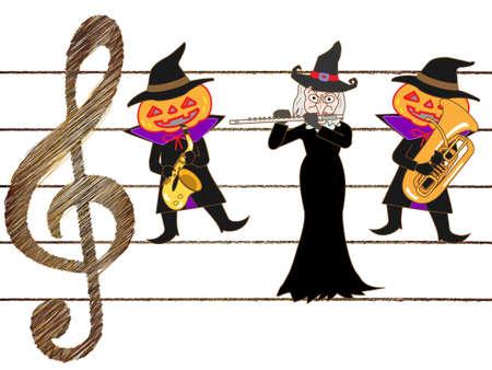 tuba: Halloween concert