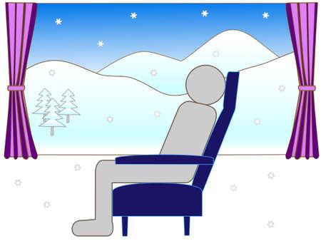 long weekend: Winter train travel