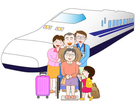 homecoming: Train travel with family