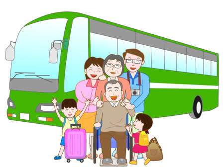 hot wife: Bus travel in the family