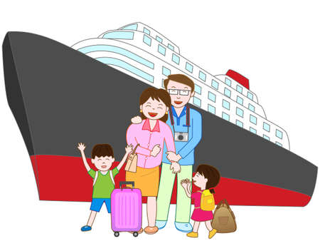 hot wife: Family trip to the ship