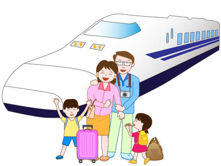 shinkansen: Train travel with family