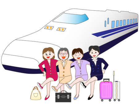 Business travel on the Shinkansen