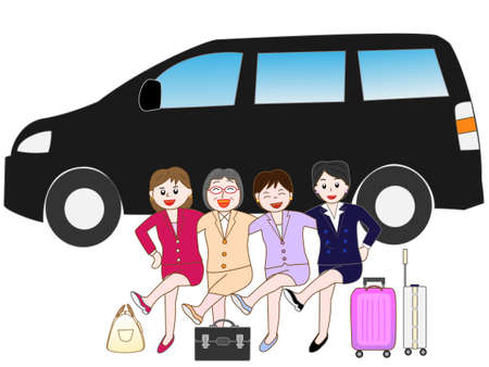 female driver: Over to the beauty to traveling by car
