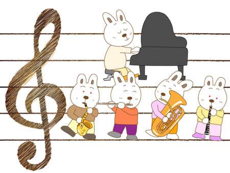 Concert rabbit