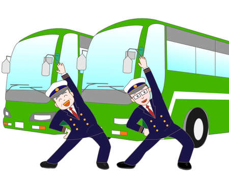 drivers: Exercise of bus drivers