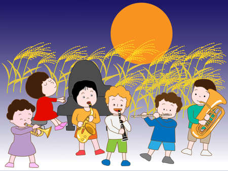 harvest moon: Children of the night of the fall concert