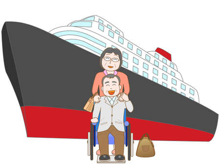 hot wife: Senior couple to travel by ship