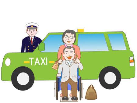 fare: Senior couples tours, taxi fare to