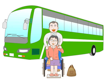 hot wife: Senior couple to travel by bus