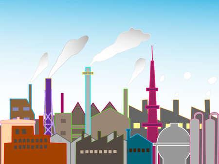industrial: Industrial landscape