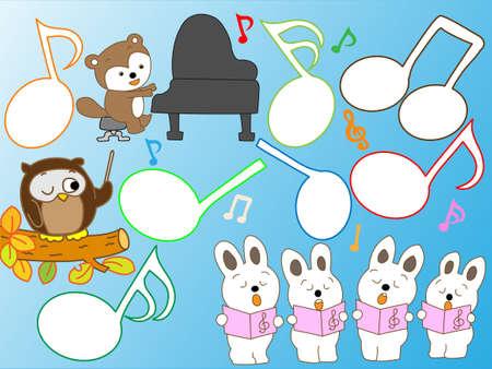 chorus: Animal concert