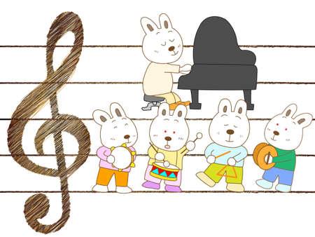 コンサート ウサギ
