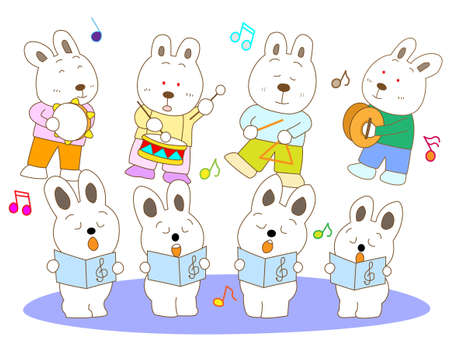 nursery tale: Concert rabbit