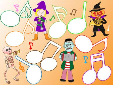 acordeon: concierto de Halloween