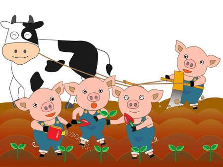wakaba: Farming of animals