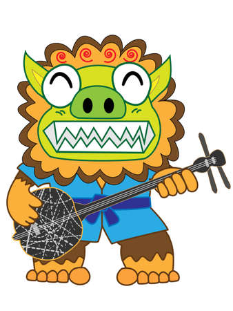 Okinawa Shisa speelt 3 lijnen