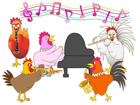 symphonic: Chicken concert