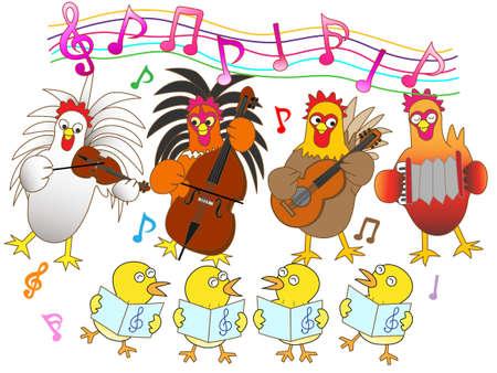 chorus: Chicken concert