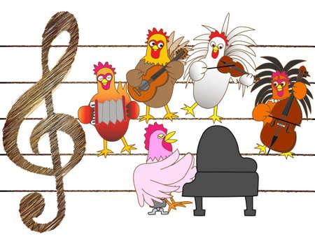 Chicken concert