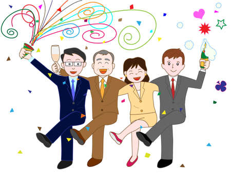 Company party Illustration