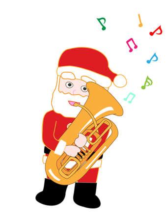 chorus: Santa Claus Christmas concert