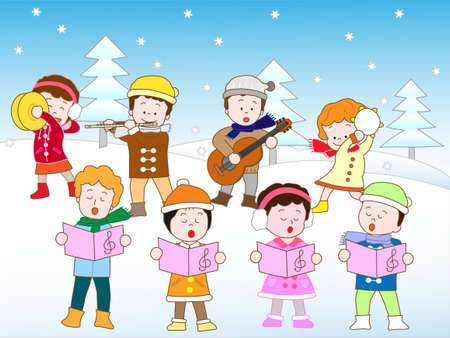 association: Winter concert Illustration
