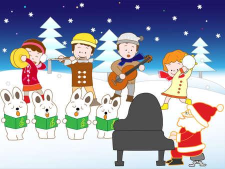 chorus: Christmas concert
