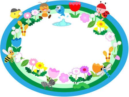 buen vivir: marco de título de la primavera