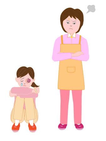 Girl abused