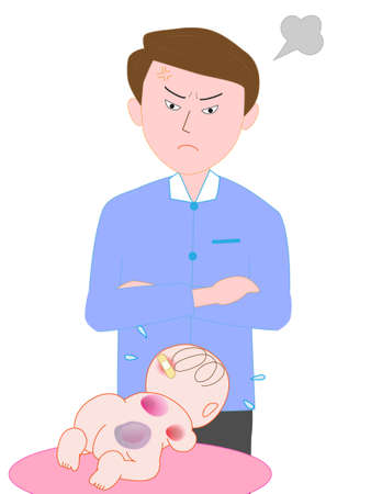 crybaby: Father mistreated baby