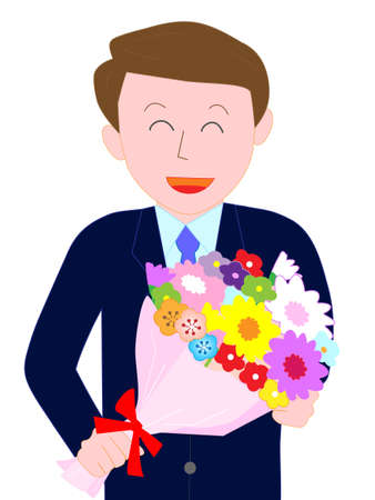 Send flowers to businessmen