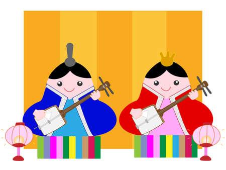 Hinamatsuri traditions of Japan.